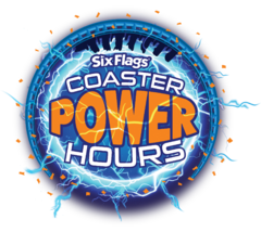 2021 Six Flags Coaster Power Hours