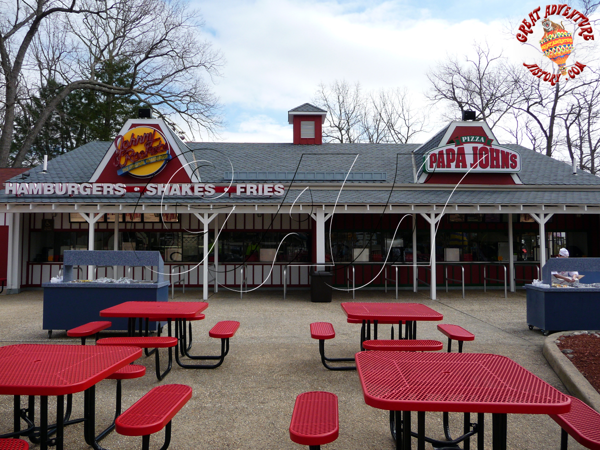 Lightnin Loops Cafe At Six Flags Great Adventure