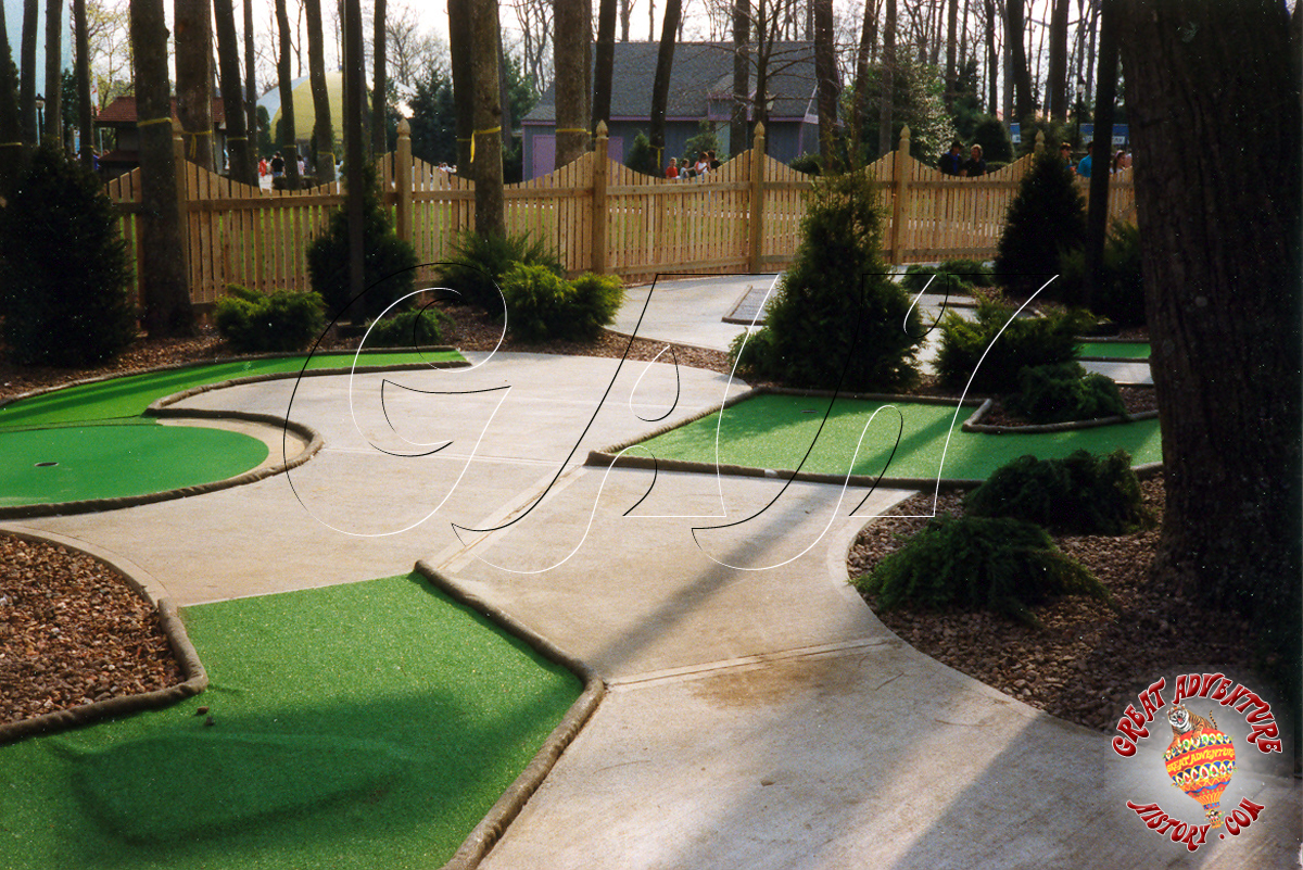 adventure golf at six flags great adventure