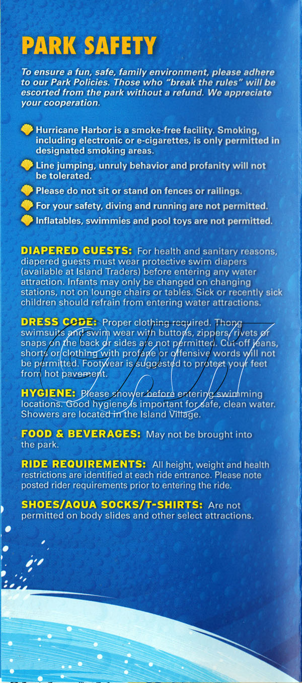 Hurricane Harbor dress code - History of the Waterpark - Great ...