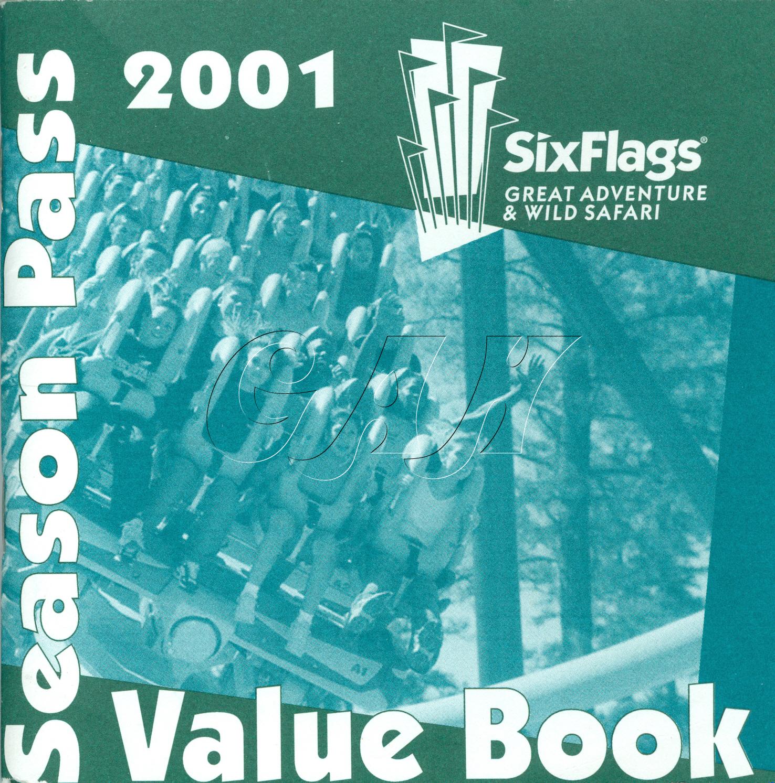 Six flags great adventure season pass coupon book