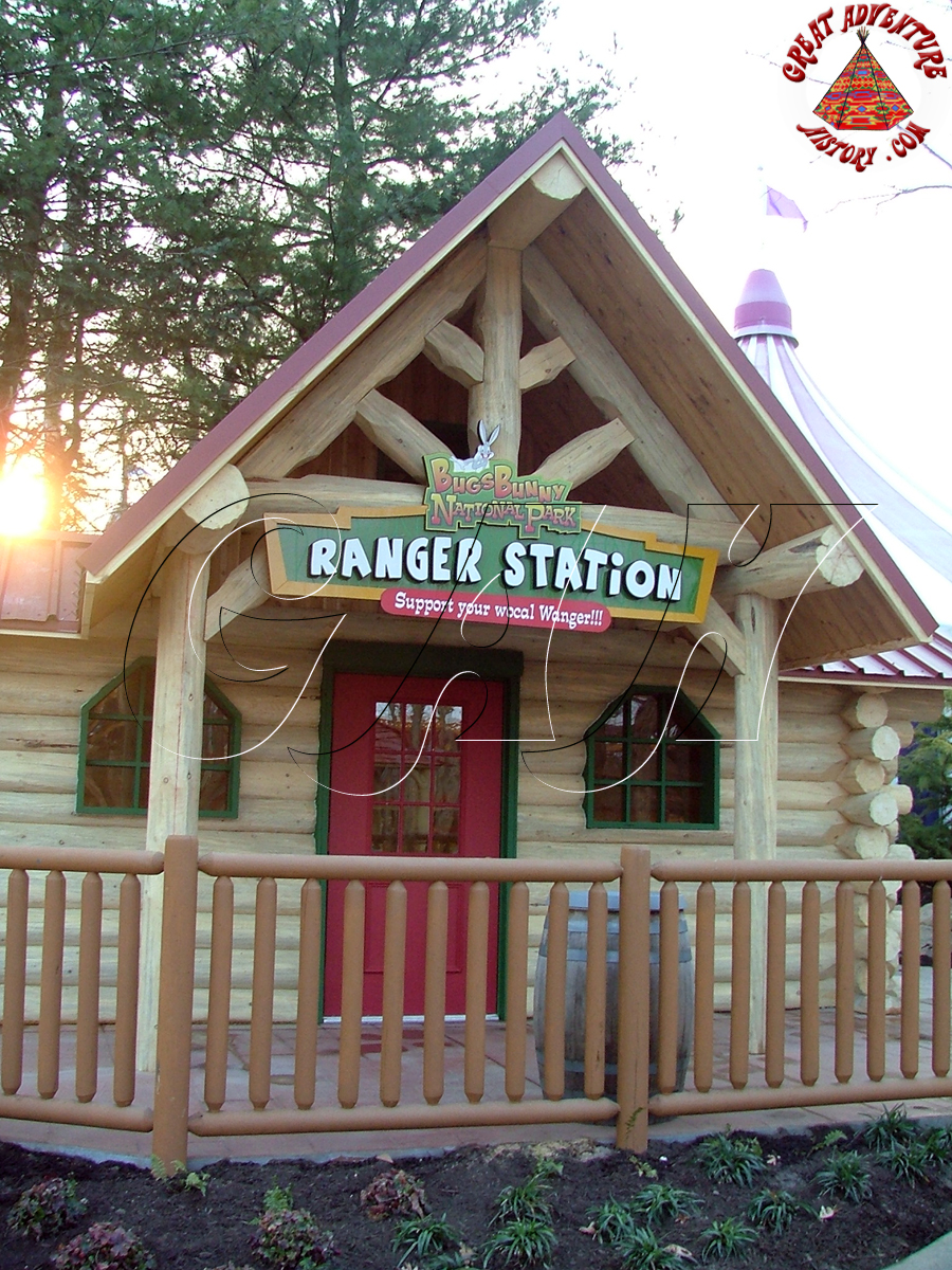 Ranger Station At Six Flags Great Adventure