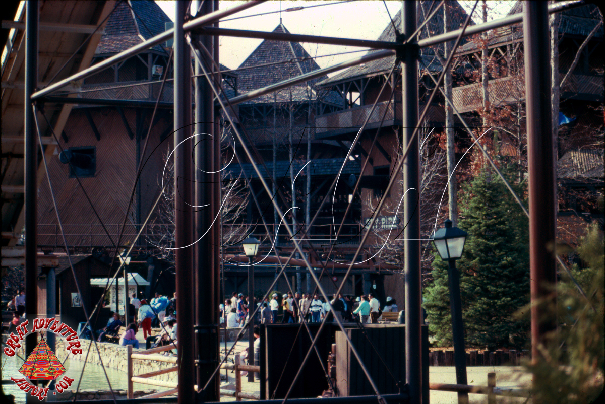 Retro Trip Report At Six Flags Great Adventure